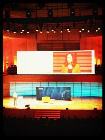 #susannewille on stage am #esprix13