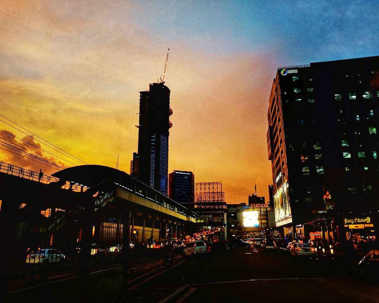 Centris Walk City City Lights City View  City Lights At Night Sunset_collection City Sunset Sunset Lights At Night Walking Around Eyeem Philippines Eyeem Collection Street Photography City Photography Philippines