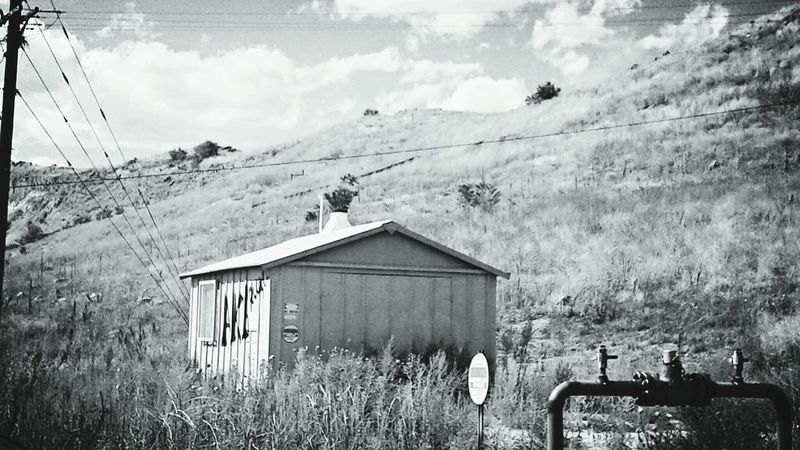 Black & White Architecture Building Exterior Mountain Sky Solitude Non-urban Scene Countryside No People Beauty In Nature Scenics Colorado Photography Check This Out Boulder