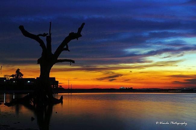 After the sunset Taking Photos Cloudy And Sky Landscape Sunset Journey Enjoying Life EyeEm Indonesia Exploreindonesia My Life My Adventure INDONESIA