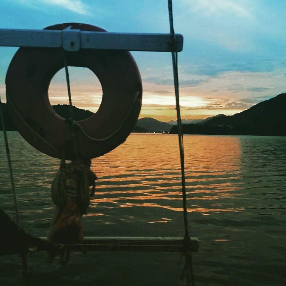 Sea Sunset Water Sky Nautical Vessel Day Summerfeeling Ubatuba Boat Ride Trip Ilhaanchieta Boattour Porai Férias Vacations Vacaciones⚓ Enelmarlavidaesmassabrosa brazilianplaces Mardocelar Fimdetarde Emaltomar