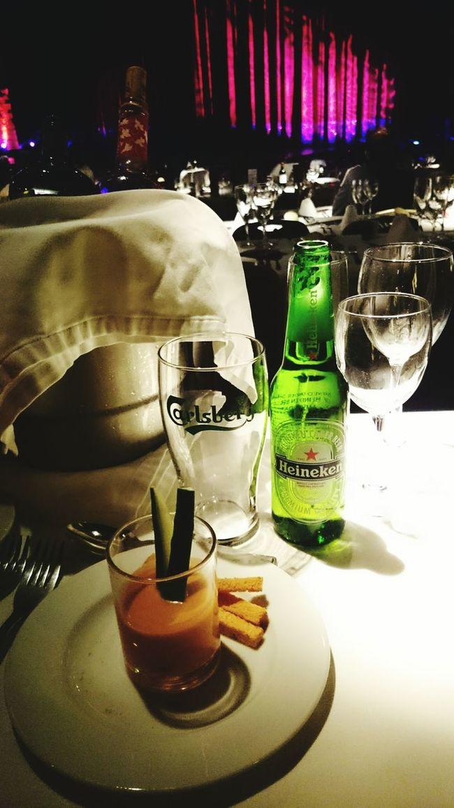 Foodphotography Drinking Beer Foodporn Show Saturdaynight Heinekenexperience