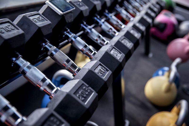 Gym OnePoundataTime NoExcuses PfP Weightlifting Workout