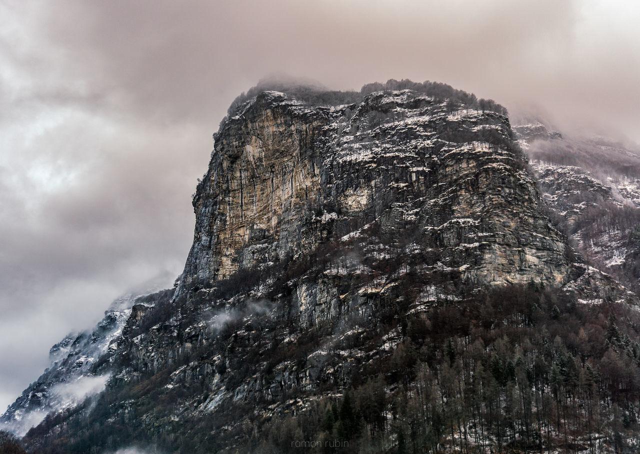 Sky Cloud - Sky No People Day Outdoors Rock Formation Rock Climbing Climbers Climbing Rocks Snow Rain Mountain Mountain Hiking Hiking