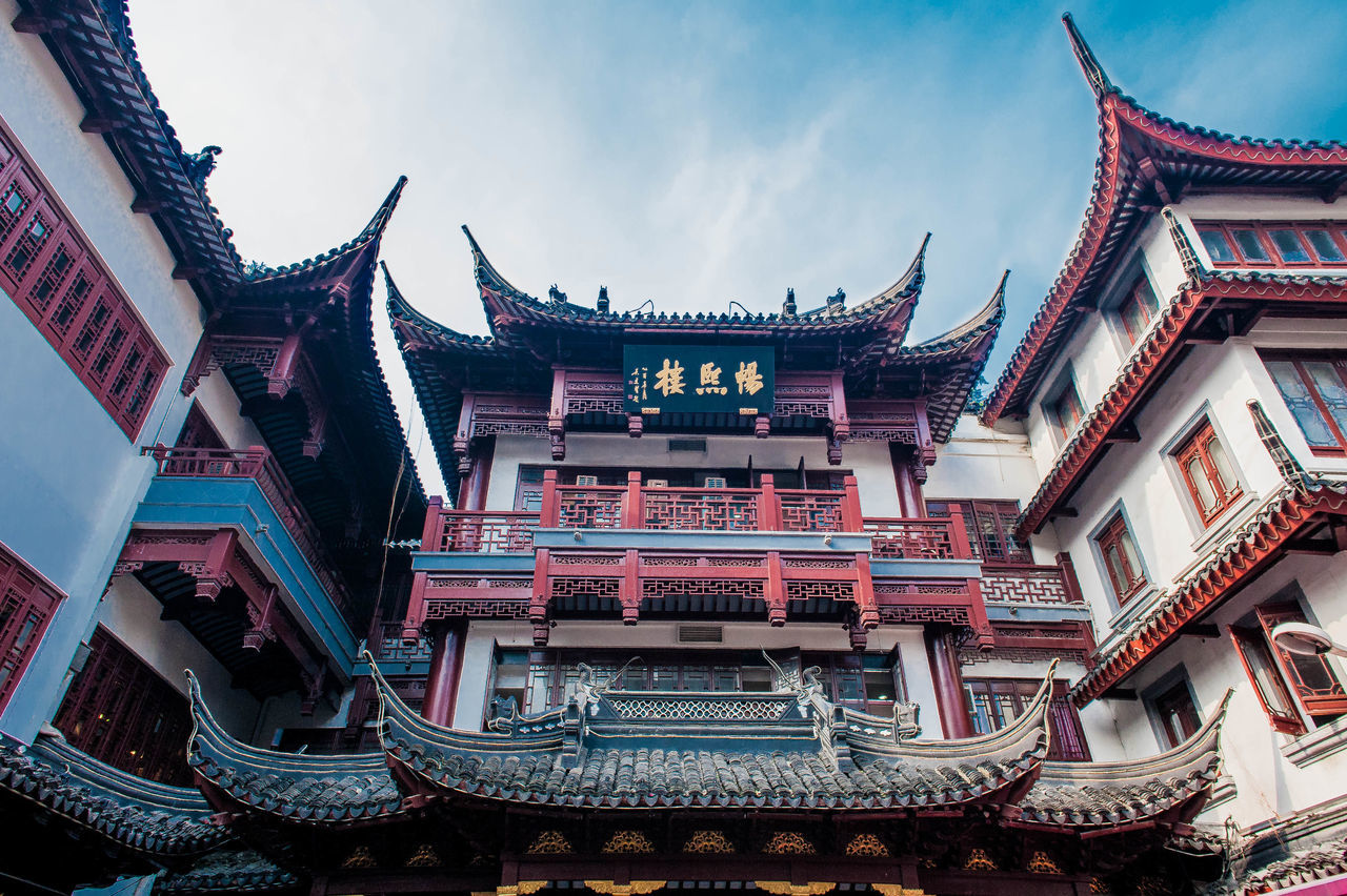 Beautiful stock photos of shanghai, Architectural Feature, Architecture, Buddhism, Building Exterior