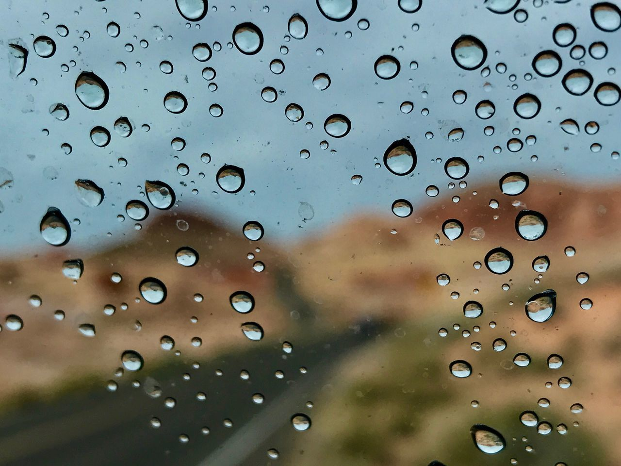 Rain drop Window Drop Water Close-up Focus On Foreground Rain Rainy Season Wet No People Sky Day Fragility RainDrop Nature Outdoors Freshness Reflection Car Wind Shield Phone Photography