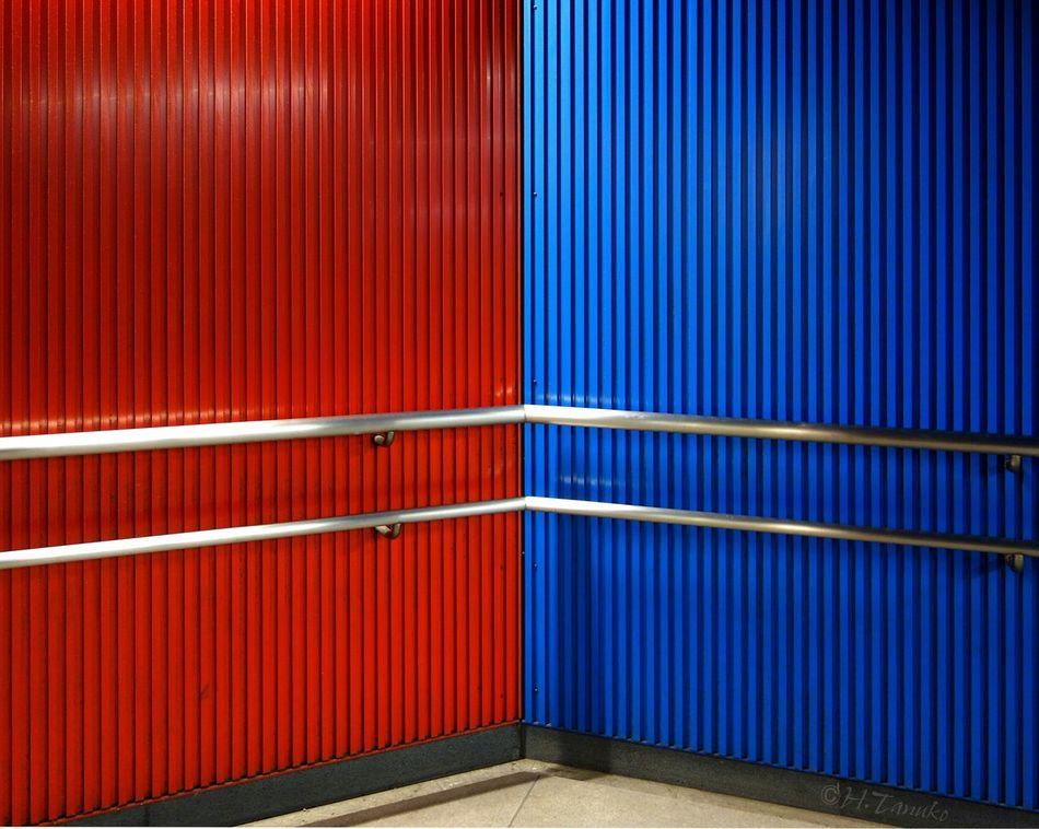Urban Geometry Minimalism Wall