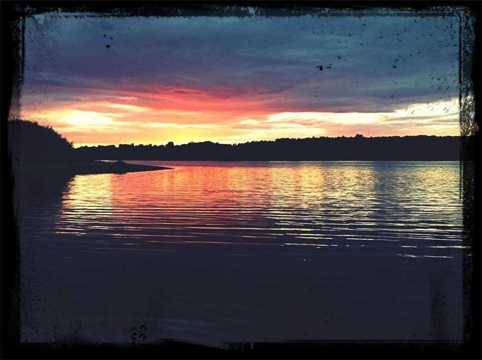 Big Pit Sunset