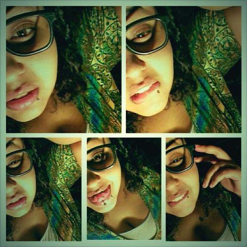 Lip Bitting ;)