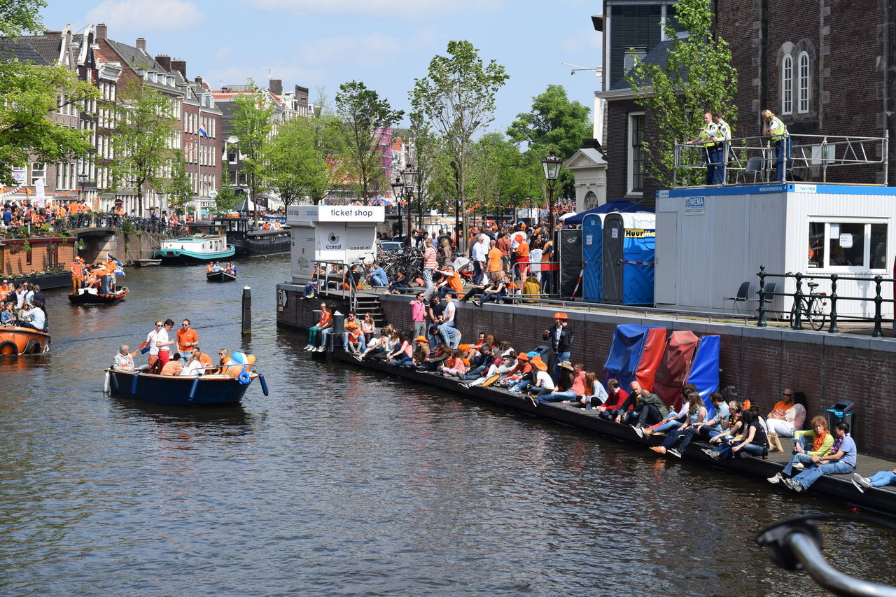Beautiful stock photos of amsterdam, Amsterdam, Architecture, Boat, Building Exterior