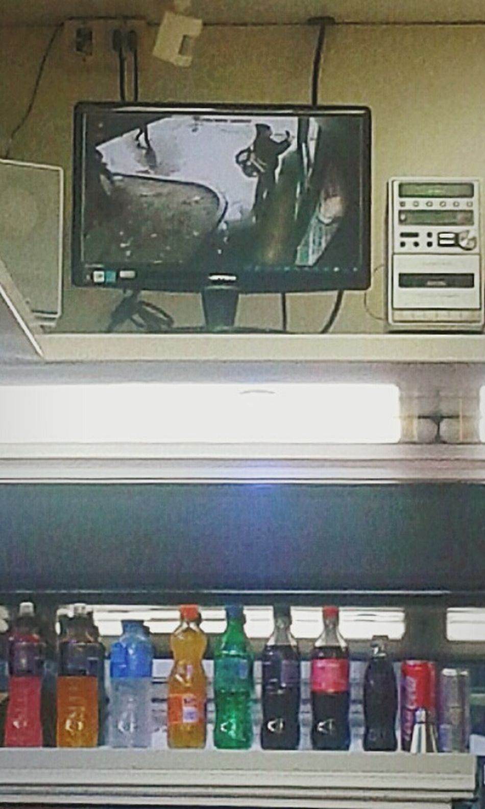"""""""Espresso - Taking a coffee and a selfie"""". That's Me drinking a coffee and taking a picture of Myself Selfies Vcc Security Cam Kiosk Espresso Bar Baretto Chiosco Soft Drinks Smartphone Photography with S3mini Eyeemfilter"""