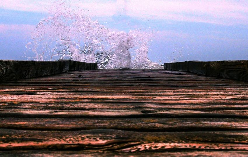 Jesolo Jesolobeach Sea Wawes Pontile Sun Summer Water Panoramic Nature The Week On EyeEm Orizon Orizzonte