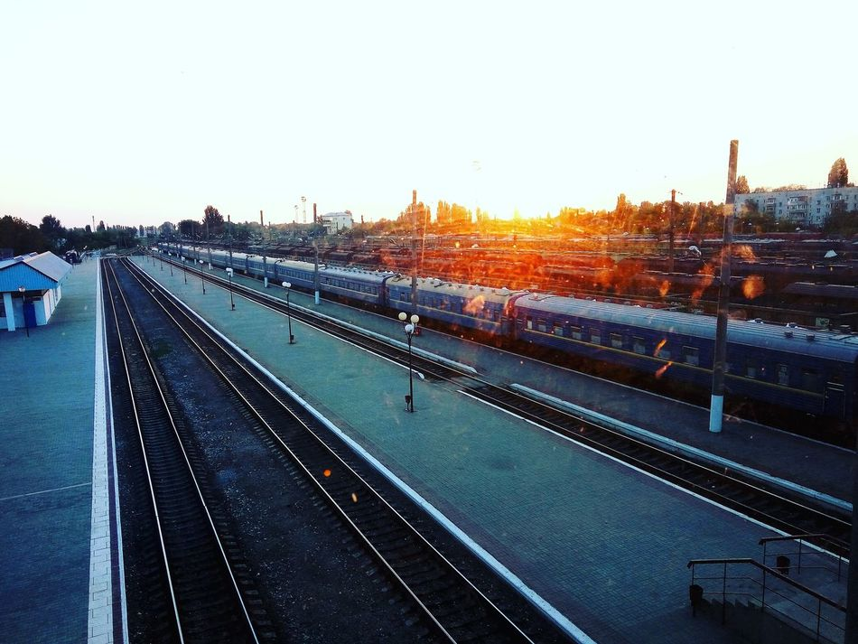 Day City Sun Train Nikolaev