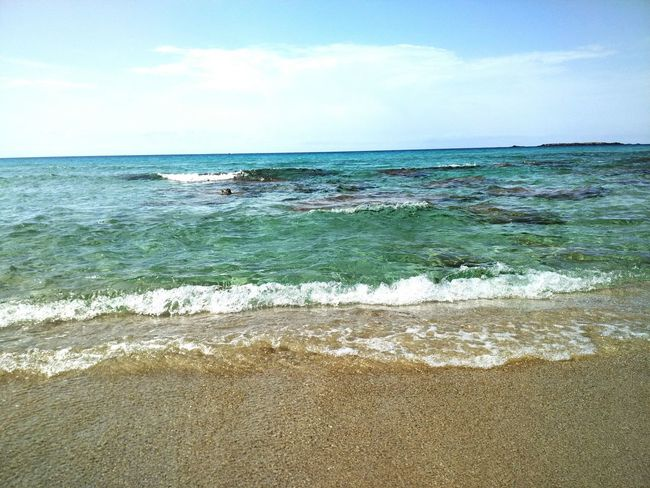 Sea Waves Horizon Over Water Beach Beauty In Nature Waves Sand Sea View Sea_collection
