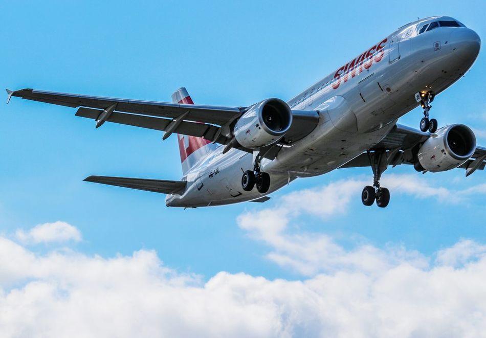 Beautiful stock photos of flugzeug, airplane, flying, air vehicle, travel