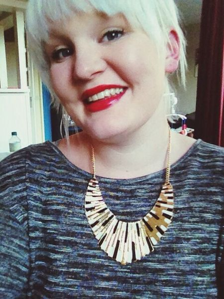 Girl Blond Smile Selfie ✌ #haveanicedayyouall