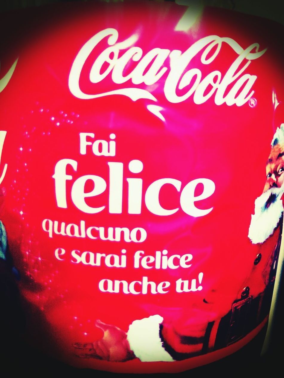 The Cocacola Advertising For Christmas Time