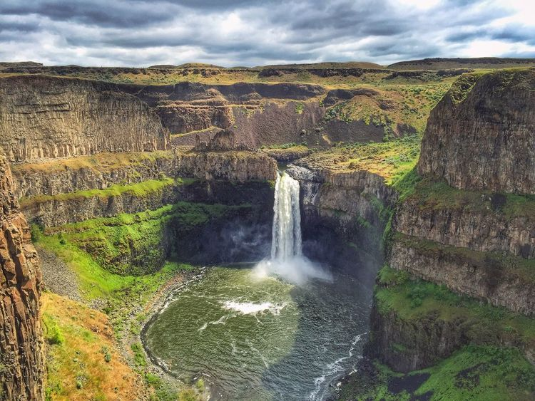 Palouse  Palousefalls IPhoneography Nature_collection EyeEm Nature Lover Explore Your Outdoors Nature From My Point Of View Nature Photography Naturelovers Nature_perfection Naturephotography Nature_collection Natural Beauty Naturelover Waterfall Water_collection Waterfalls