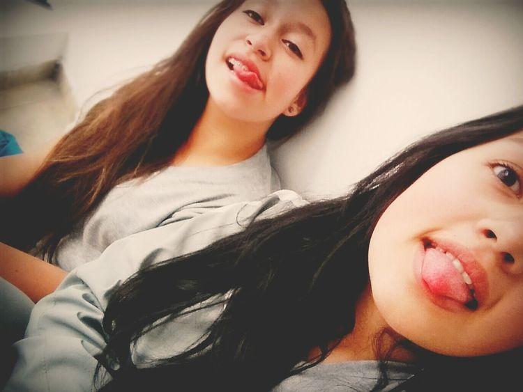 Babe School School ✌ Yeesss Friend Yes Crazy Friends HASHTAG Colegio Sweet .😊😊😊😍
