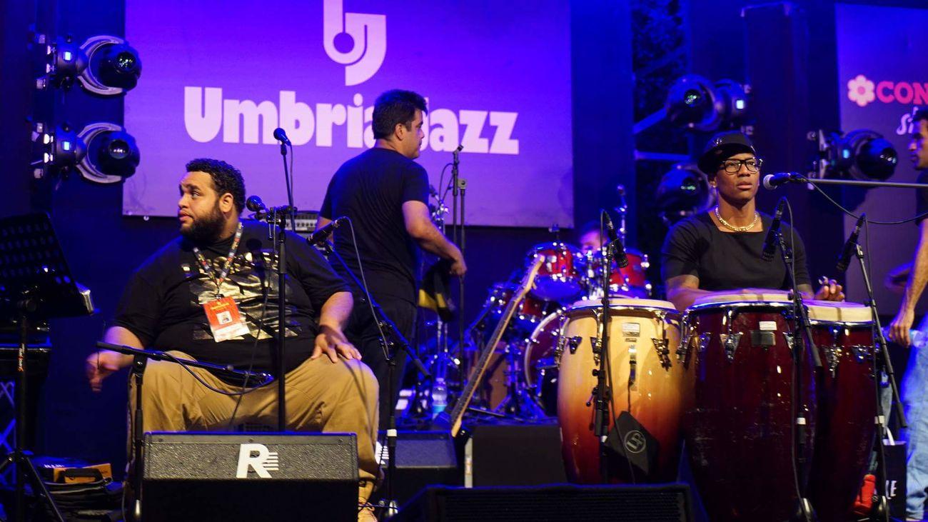 It's raining Jazz .. Umbriajazz Musicfestival Perugia Collegeradio Radiophonica