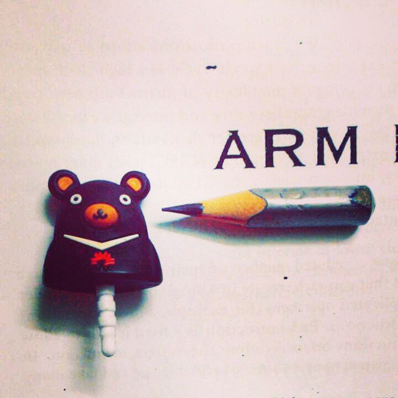 Arm MP Study Exam Toy Pencil Sharp Book Read Life Love College Crazy Fun Followed Followgram Madness