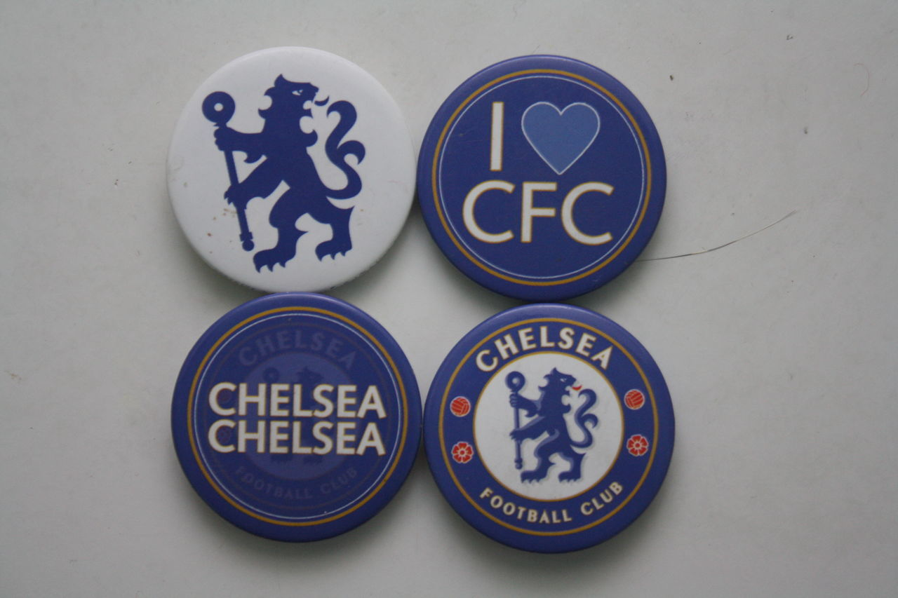 Chelsea Football Club merchandises Badge Blue Cfc Chelsea Chelseafc Close-up Communication Day Focus On Foreground ILove Love No People Rough