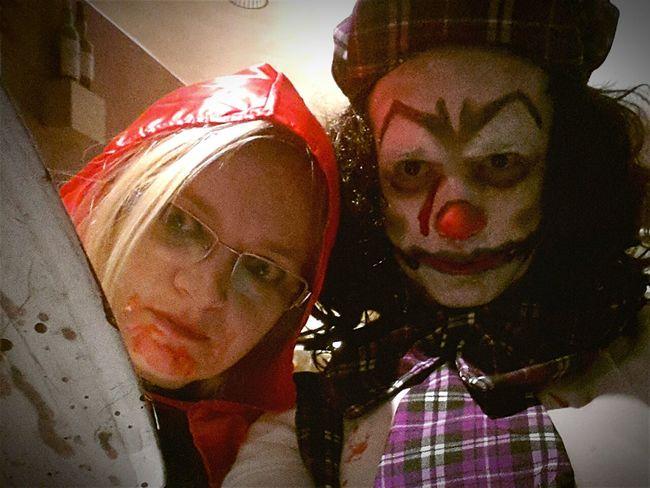 Halloween Halloween2015 Clown Killerclown Pagliacci Cappuccettorosso Cappuccettorossosangue Venice Halloween