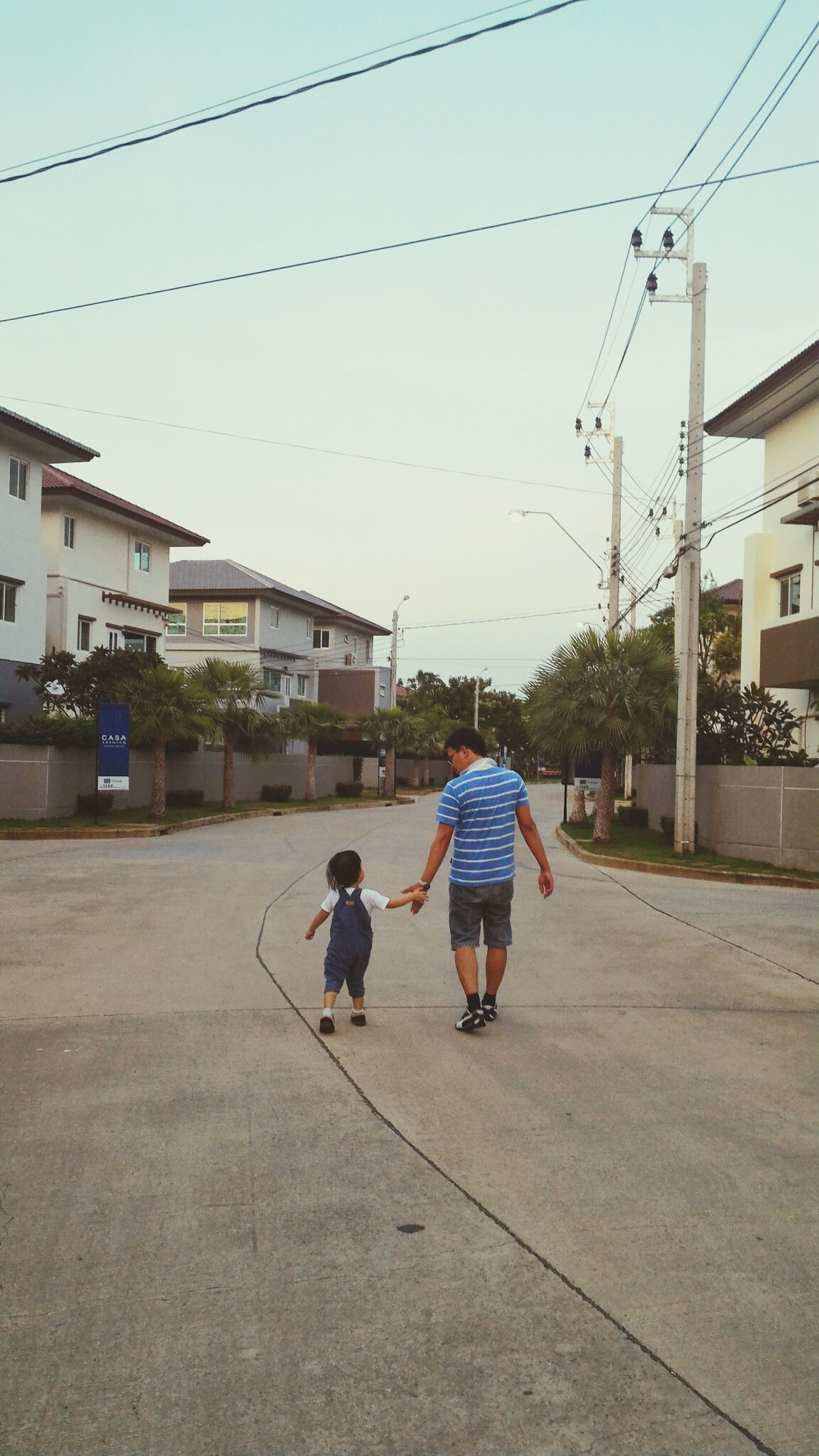 Follow my 2 beloved The Following Followmyboy Take A Walk Father & Son Family My Dad My Hero On The Way