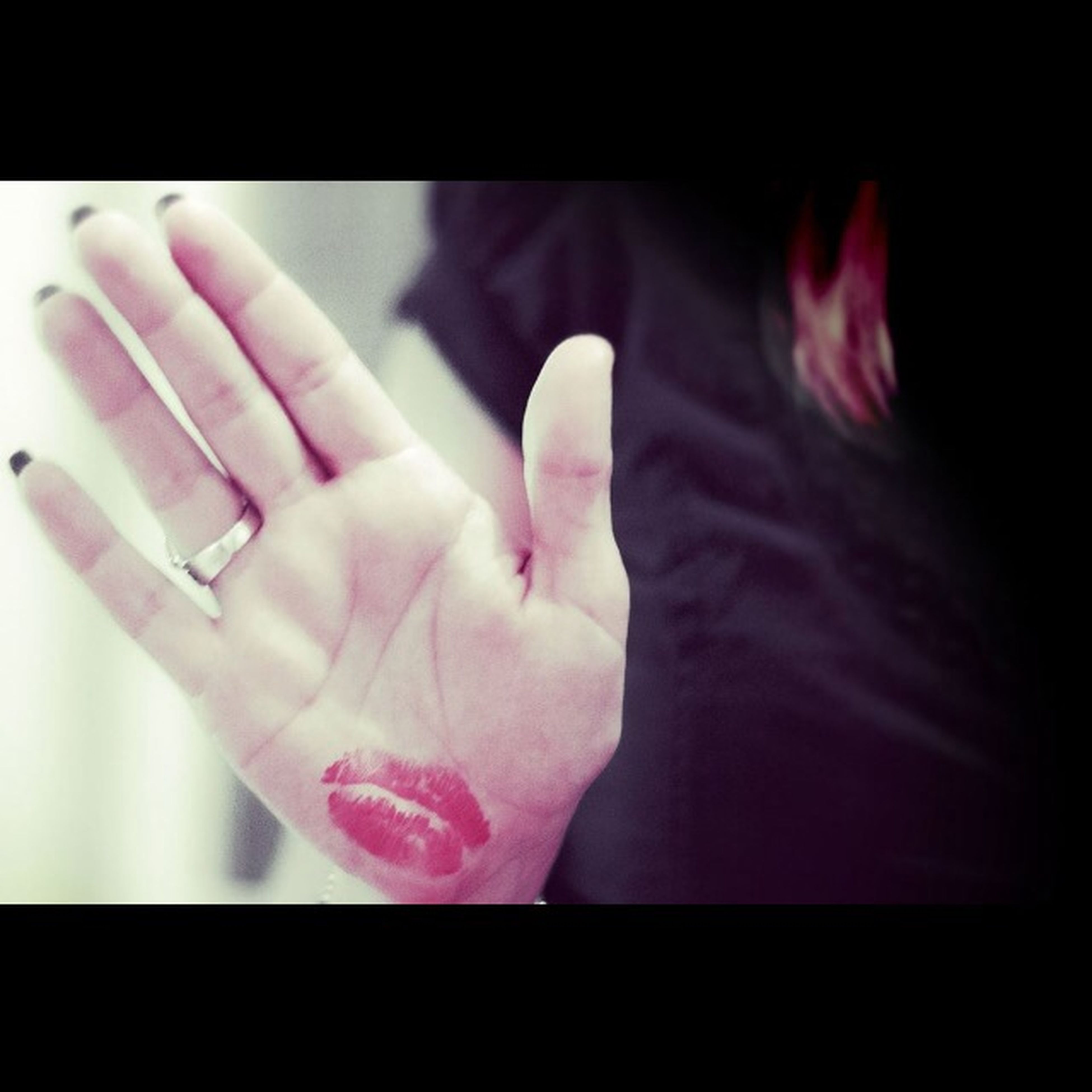 person, indoors, part of, human finger, close-up, transfer print, lifestyles, cropped, auto post production filter, holding, pink color, flower, unrecognizable person, fragility, leisure activity, human skin