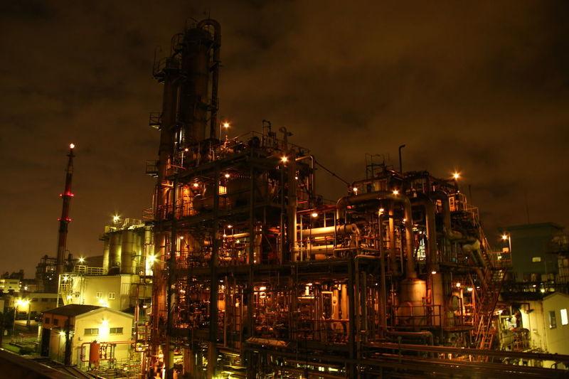 川崎工業地帯は、夜はめっちゃ綺麗です(^-^) JAPAN Night ✌