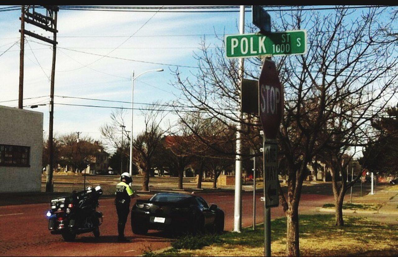 2017 corvette stingray Speeding, Burnout, Turn Down A One Way ..... Popo Amarillo Texas Chaching $$$