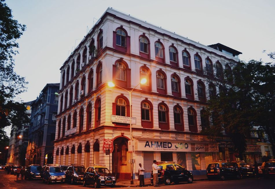Colaba - the reminiscence of old Mumbai Streetphotography Lighting Equipment Travel Destinations India Mumbai Architecture Built Structure Architectural Detail Symmetry Indianheritage Indianculture