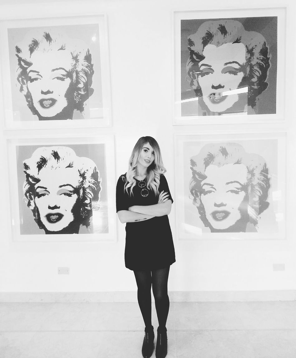 Andy Warhol Exposition♡ Hi! That's Me Hanging Out Andy Warhol Art Popart