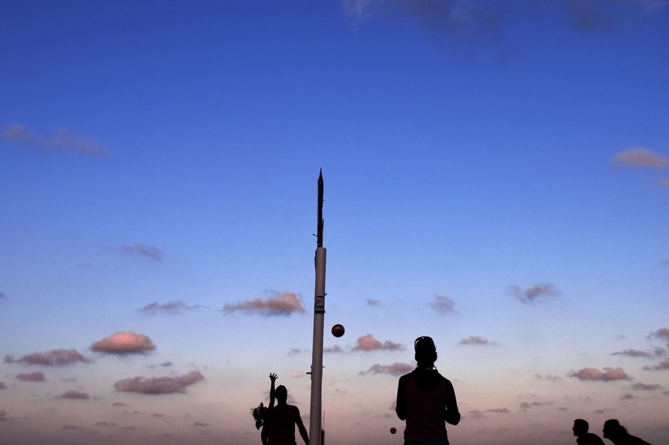 Beautiful stock photos of volleyball, Cloud, Competition, Copy Space, Dusk