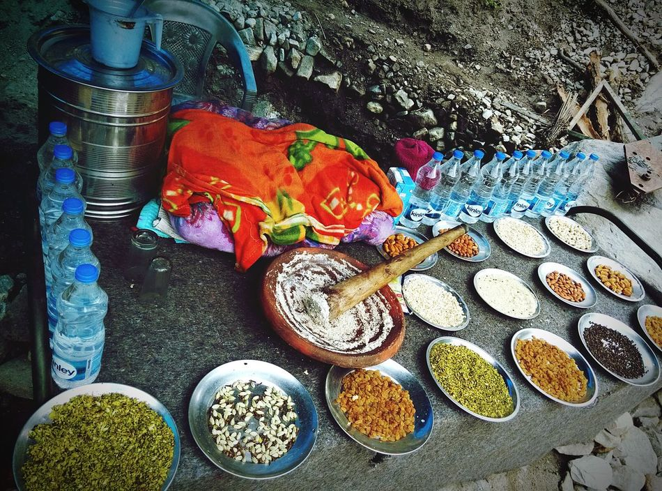 A Taste Of Life Valley Of Flowers Govind Ghat A paste made out of dry fruits and spices is mixed with cold milk to make this delicious drink, that pumped in energy to trek next 13kms :) Tadaa Community