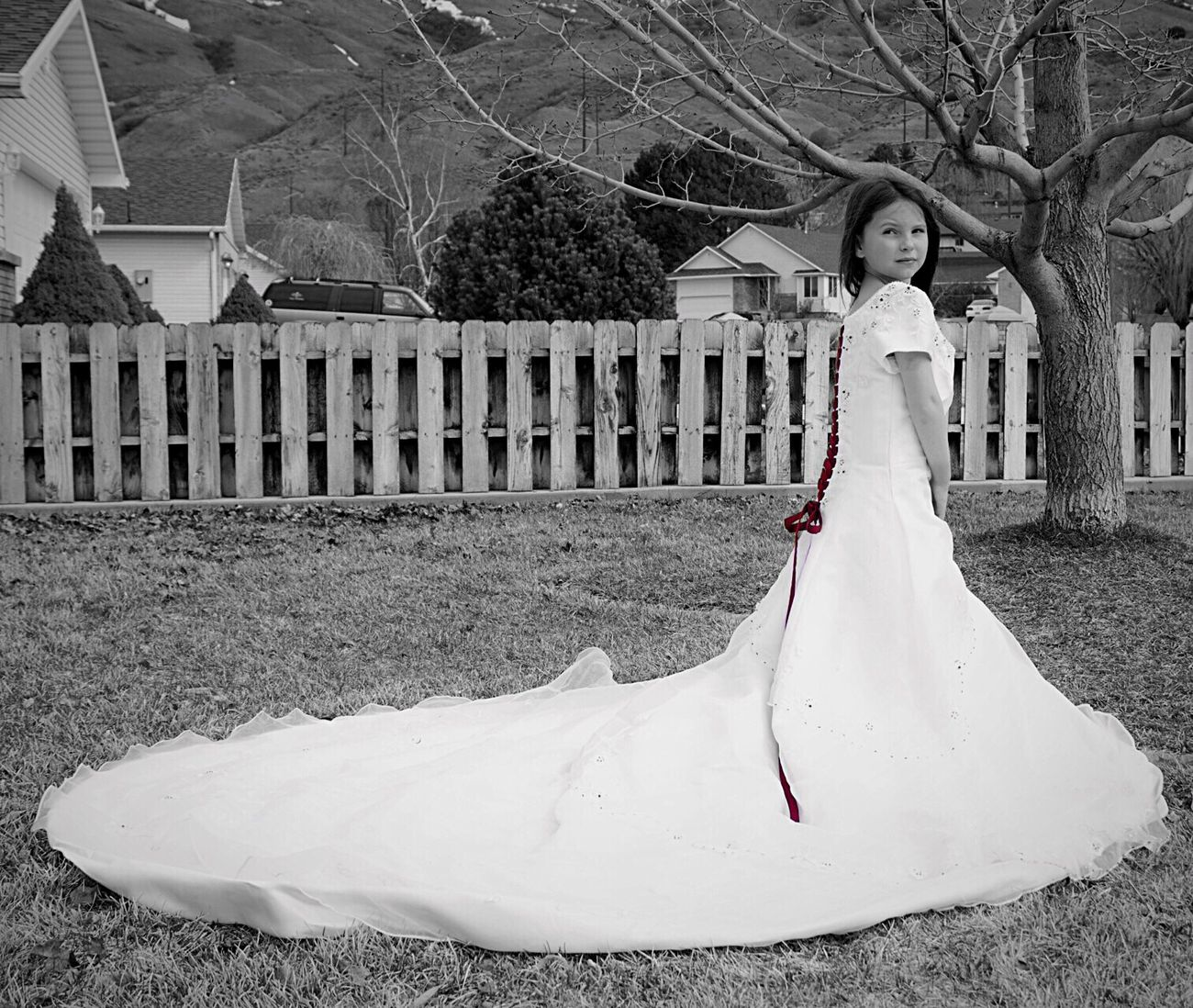 Wedding Dress Mamas Girl Love ♥ Pretty Girl Outside Photography