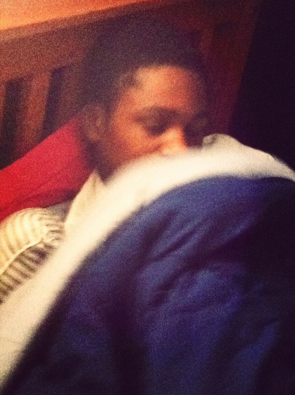 Hah black boy sleeping