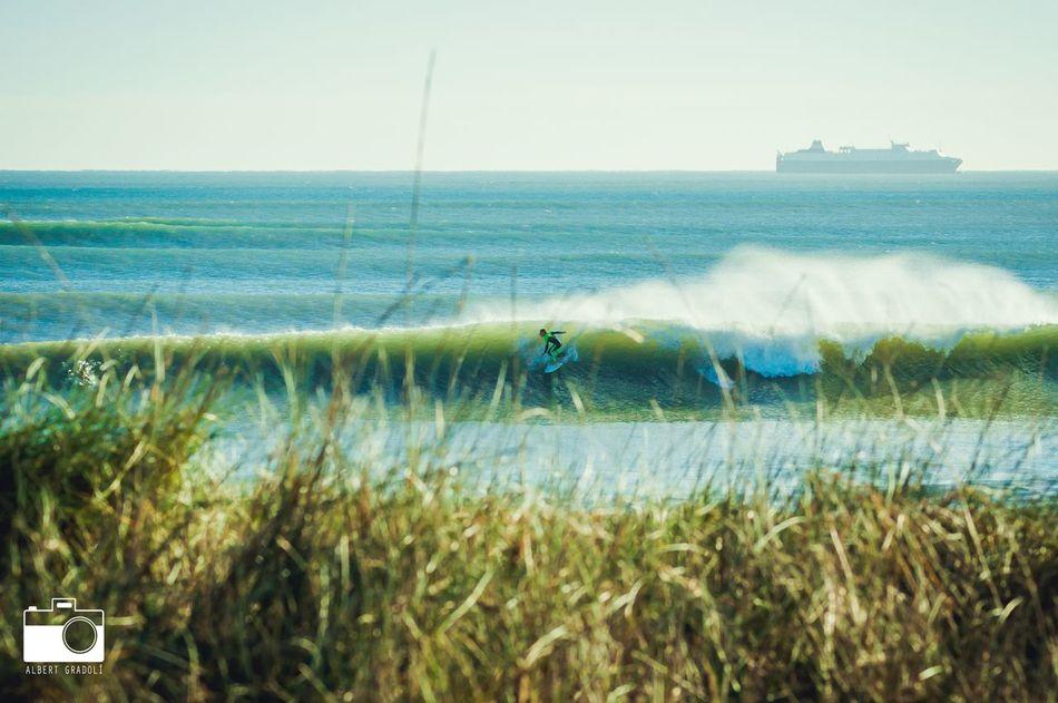 Surf en la Playa de El Saler.