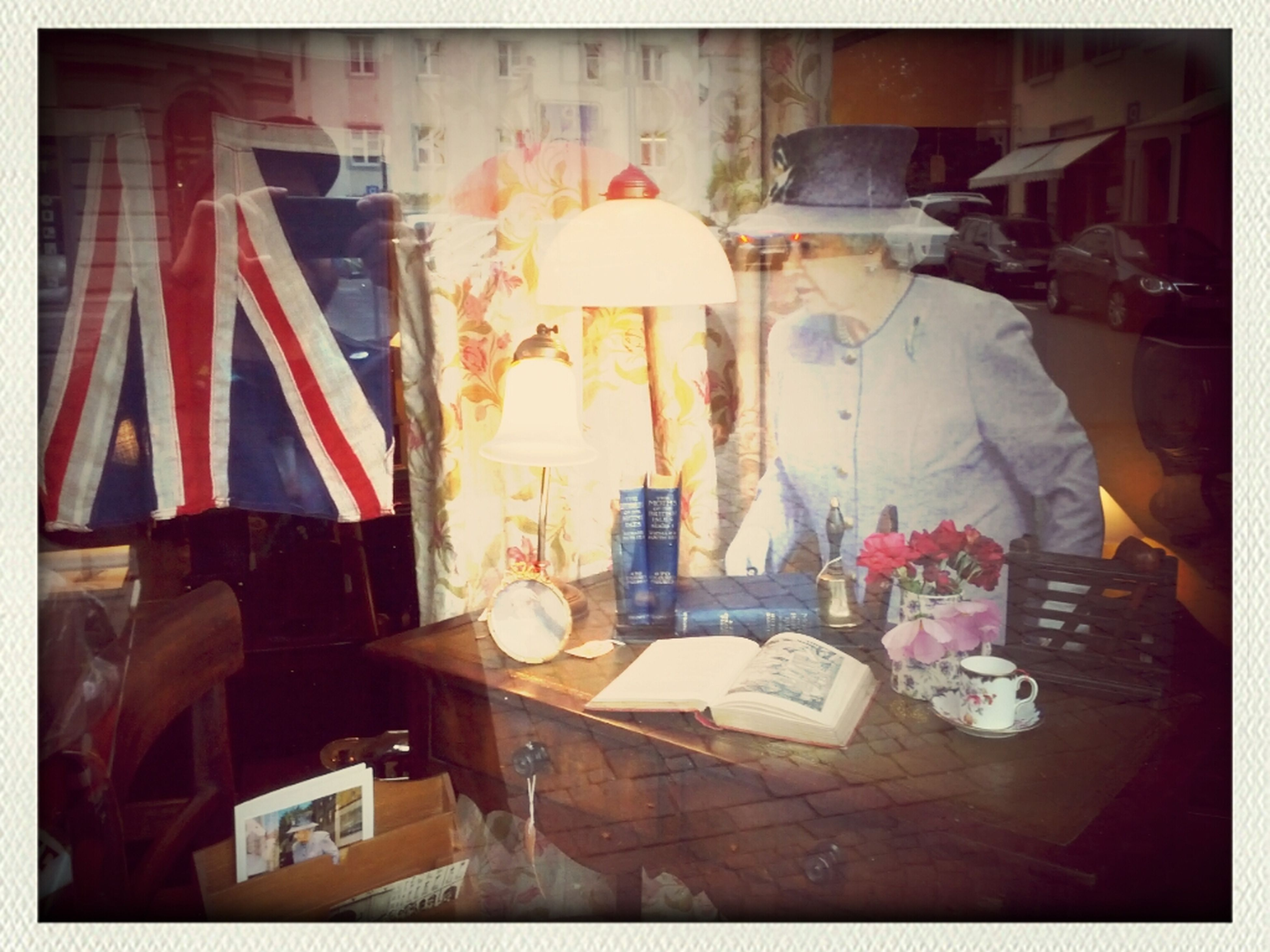 Having Tea With The Queen