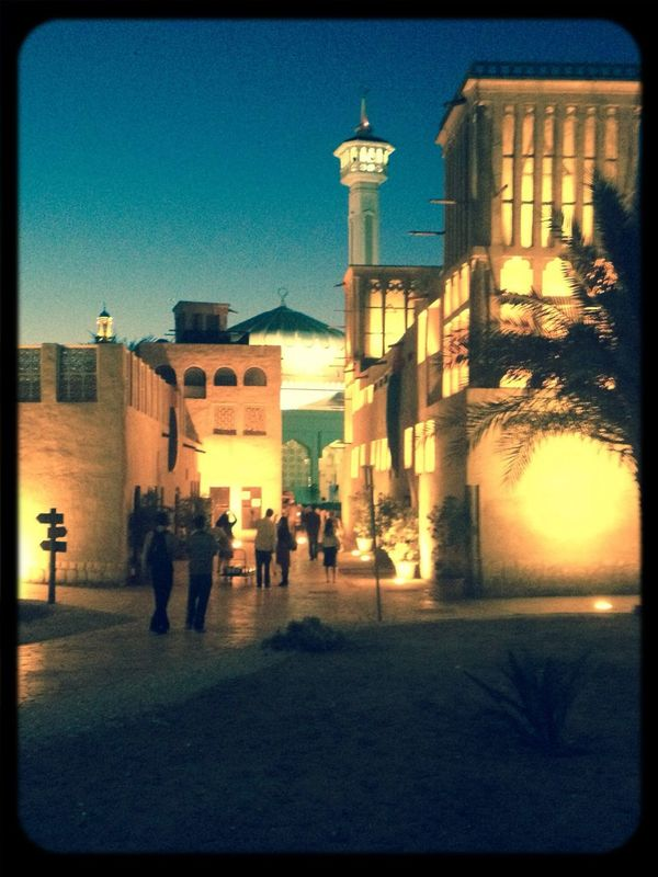 Tour in the old city Dubai History Tourist View