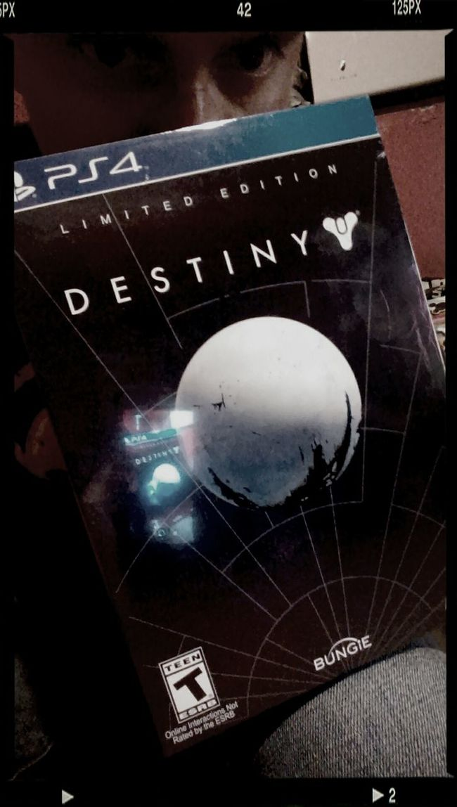 Destiny Game Playstation 4 Limited Edition Midnight Release