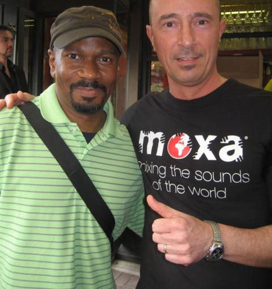 Me and Larry Heard Mr. Finger Dee Jay