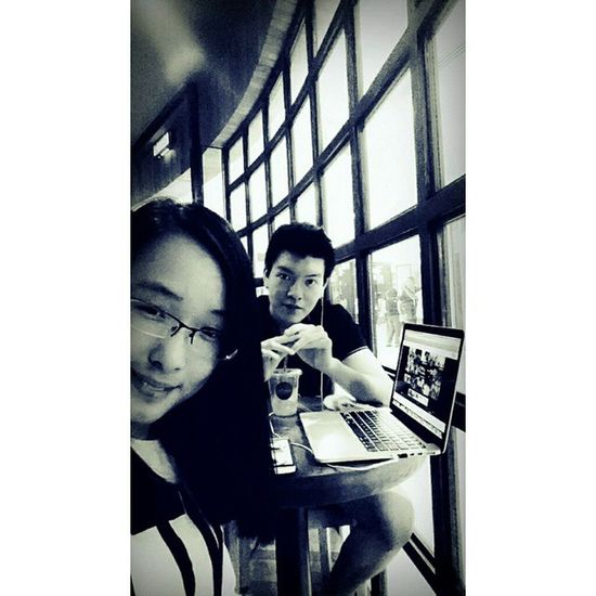 Meet the long-lost and quite-recent bae ??? Thelibrary Coffee Bnw Longlostfriend MADEHIMMYGORGOR WOOHOO kidsnowadays