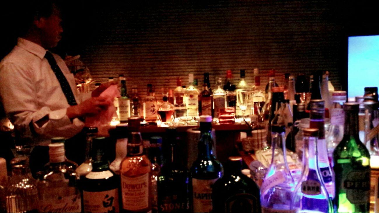 キャンドルみたいなお酒たち Alcohol 君たちみたいにハイペースなコは初めてだよって、マスターが2杯もサービスしてくれました。試飲もたくさん!(笑)美味しかった...💕
