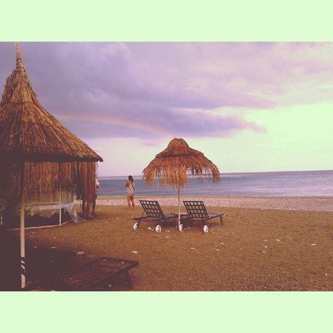 Olympos Antalya Olympos Olympos Beach Rain Beach On The Beach Gokkusagi Rainbow 2014 Summer2014