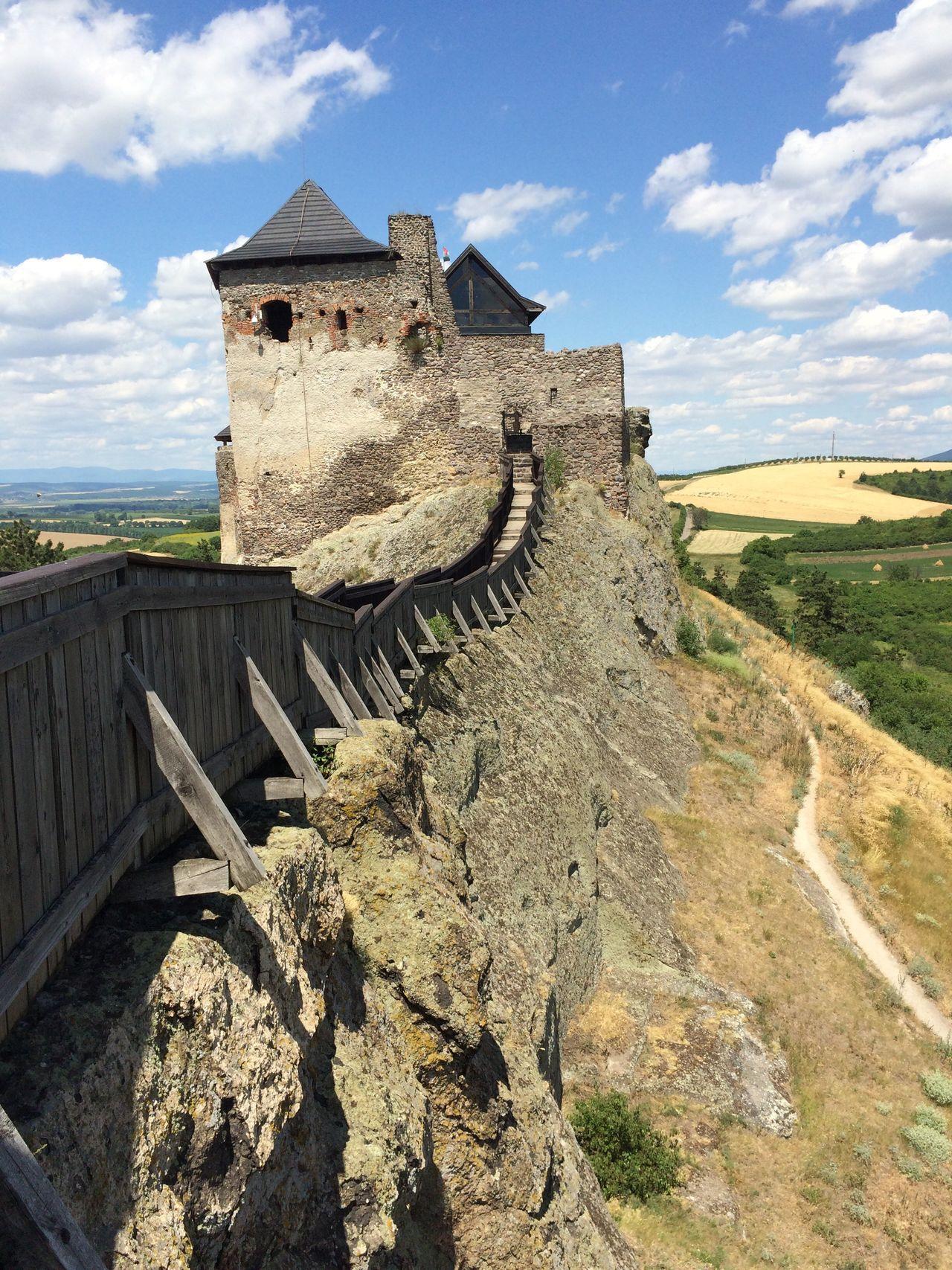 Middle Age Castle View  Castle Walls