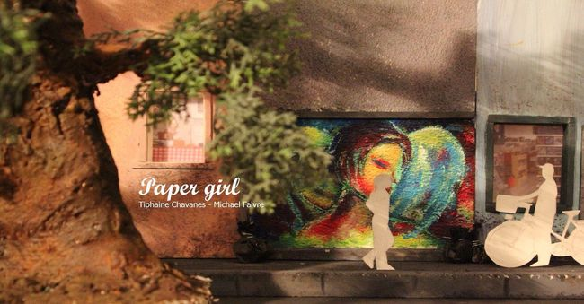 Stopmotion animated project if you are interested in the project feel free to watch the video in the following link: https://vimeo.com/164816796 ;) enjoy! Art Animation Poetry Paper Handmade Stopmotion