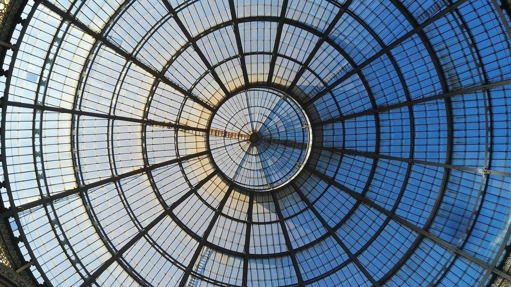 Circle Pattern Built Structure Low Angle View Concentric The Architect - 2017 EyeEm Awards Circle Roundandround Milano Milan Architecture Minimal Scenics Textured