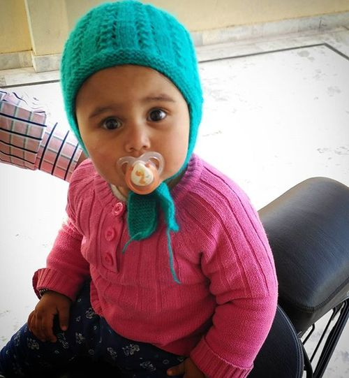 "Rabaab Cute Child Dummy Babygirl Toddler  Instakids Cutie Babyoftheday ਨਾਨਕੇ @rabaabmadhar ""A Child Is A Uncut Diamond """