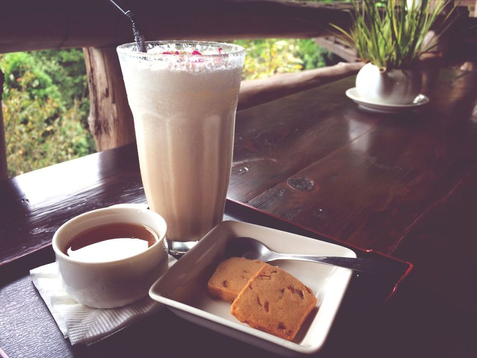 Cookies Tea Time Milktea Jelly what a relaxing afternoon :D